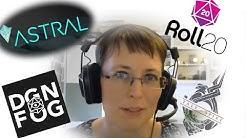 Roll 20, Astral, Dungeonfog, Talespire und Co - Einsteiger-Workshop für Online-Rollenspiel