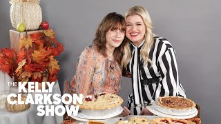 Kelly Clarkson Ranks Thanksgiving Pies | Digital Exclusive