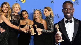 2018 Golden Globes Winners Recap
