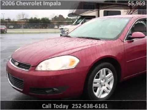 2006 chevrolet impala used cars new bern nc youtube. Black Bedroom Furniture Sets. Home Design Ideas