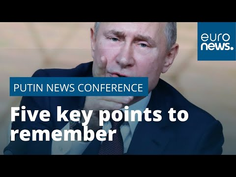 Five key points from Russian president Vladimir Putin's four