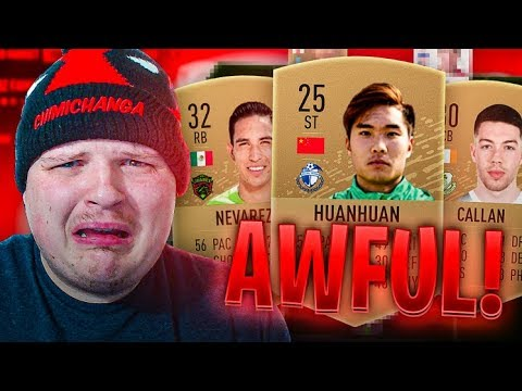 Using The LOWEST RATED Team In FUT CHAMPS On FIFA 20...