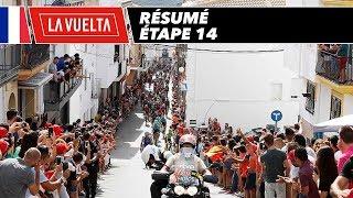 Résumé - Étape 14 - La Vuelta 2017