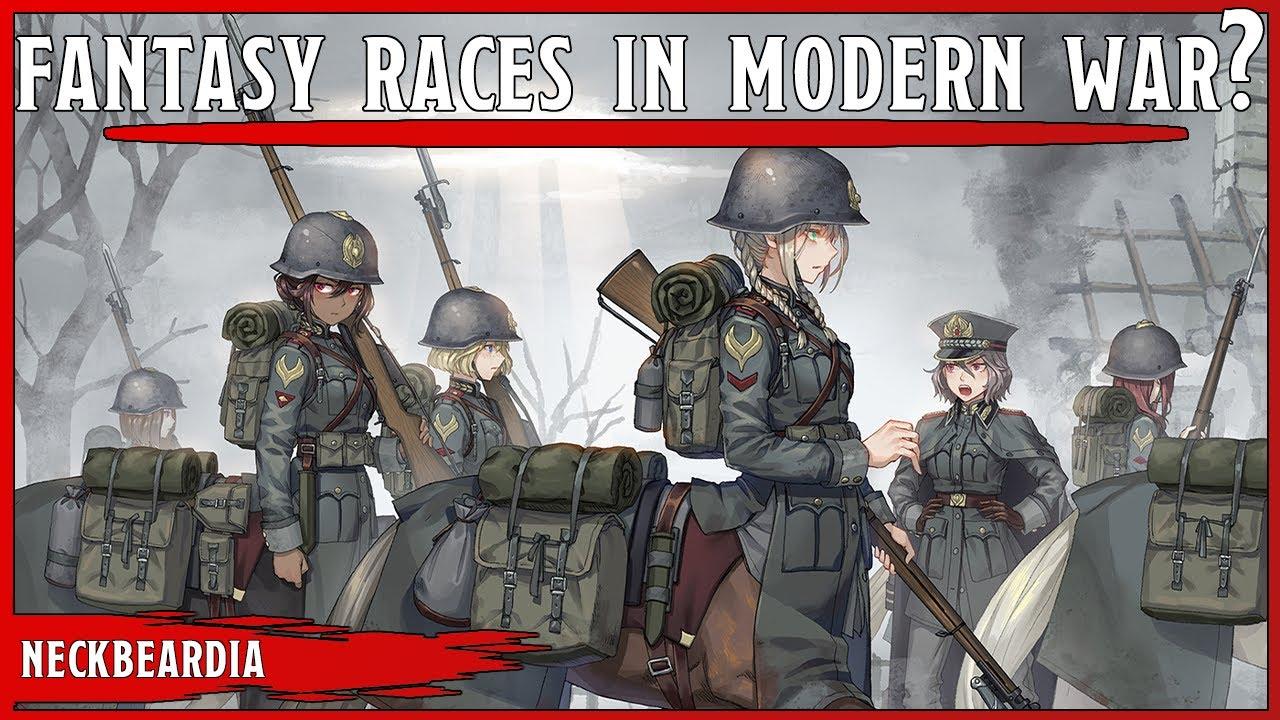Fantasy Races In Modern Warfare? || Lizard Folk The Future Of Warfare?
