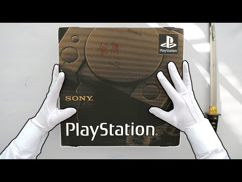 sony-playstation-unboxing!-(first-ever-model)-ps1-original-scph-1000-japanese-launch-console