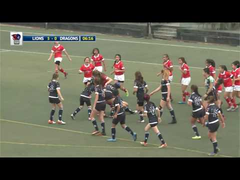 Island Lions vs Peninsula Dragons - Ladies under 14