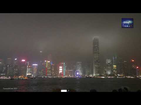 Hong Kong Symphony of Lights show