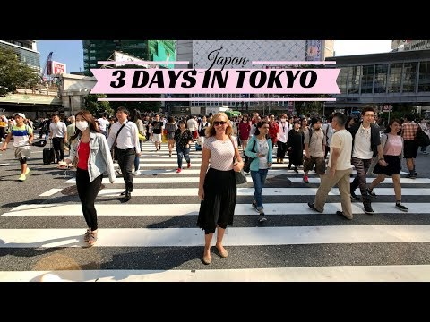 Japan - 3 days in Tokyo! (1080p HD) | Magda T