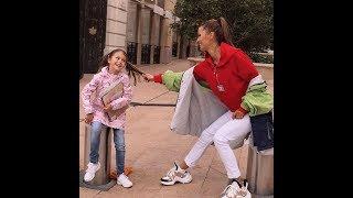 Дочка Вики Бони не хочет делиться с мамой шоколадом ))