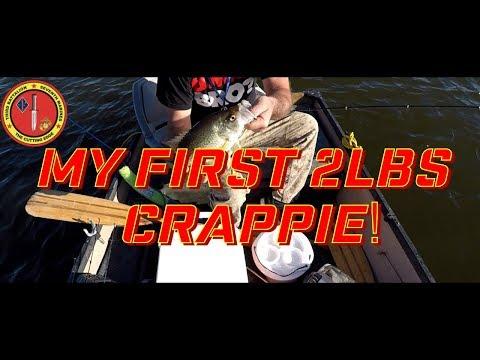 Alamo Lake Fishing Crappie and Bass 2 11 2018