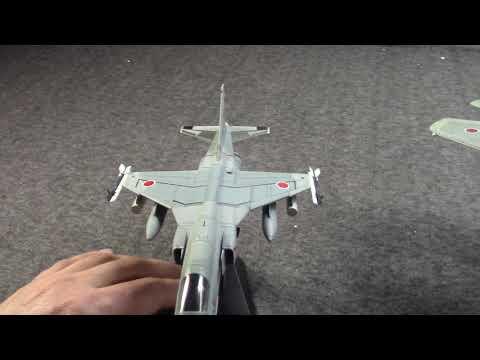 Mitsubishi F1 F15j F2 Jets Of The Jasdf History Hobby Master Models Youtube