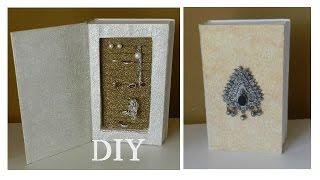 DIY: Шкатулка для бижутерии из книги