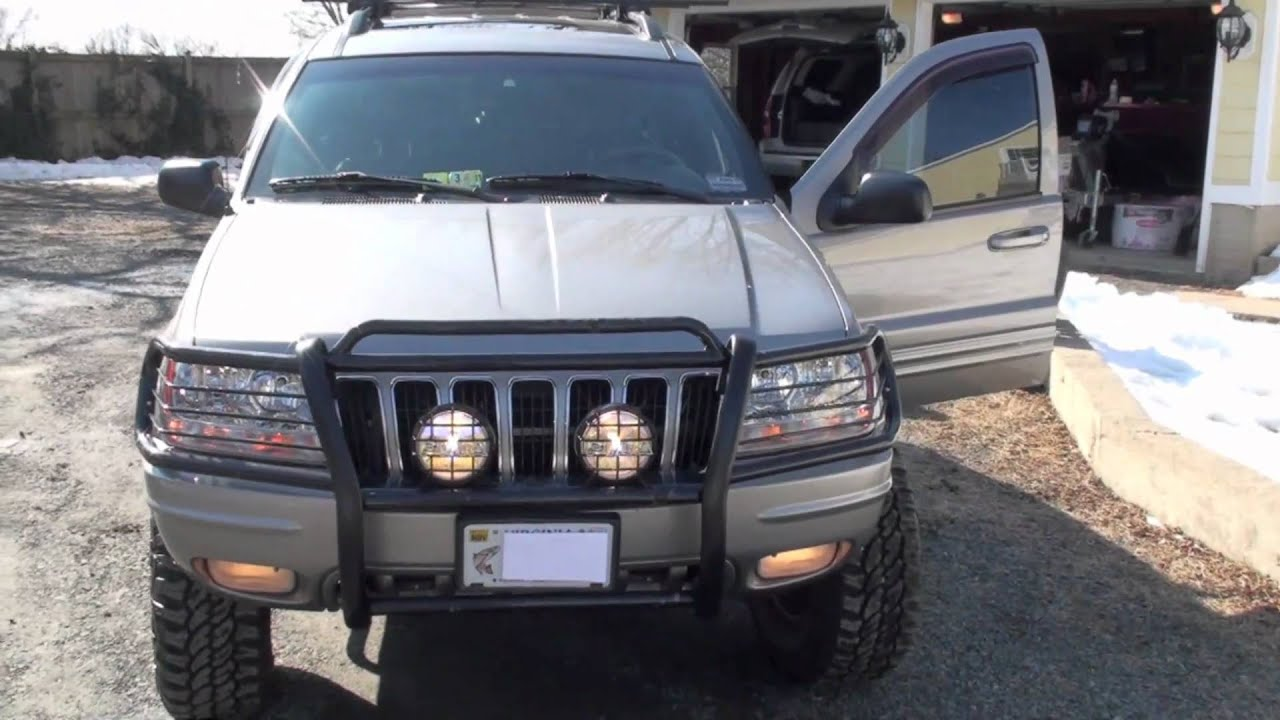 Jeep Grand Cherokee Off Road Bumper >> 2001 Jeep Grand Cherokee Limited Off Road Edition - YouTube