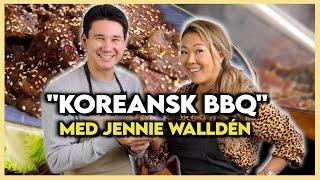 Koreansk BBQ med Jennie Walldén!