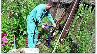 Как бетонировать заборный столб(Видео посвящено правильной и надежной установке заборного столба. Показан полный процесс от первых сантим..., 2014-07-05T19:24:59.000Z)