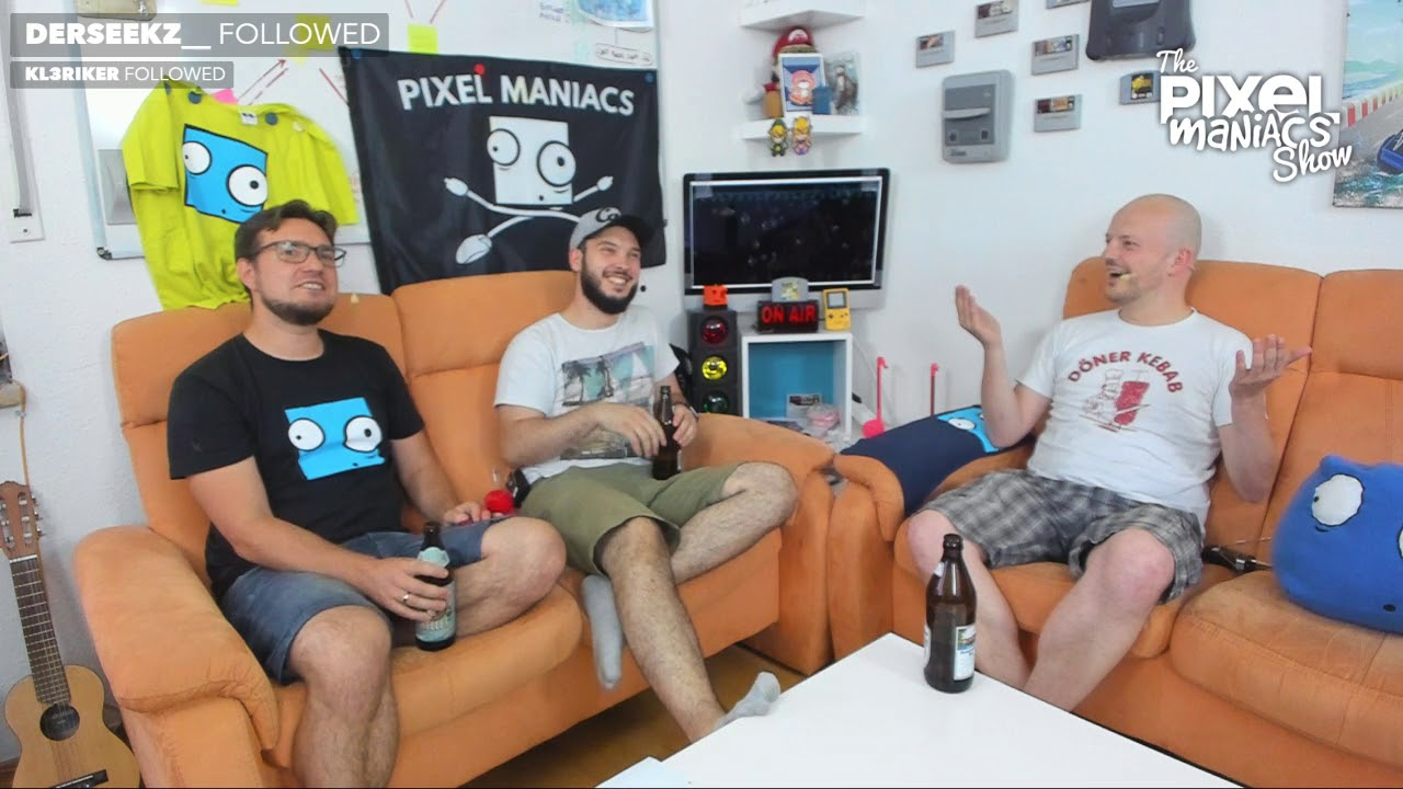 """[Pixel Blah] """"Auf ein Bier"""" mit Sebastian Stange"""