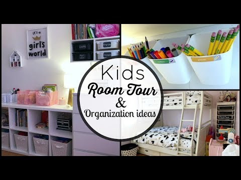 Kids Room Tour & Toy Organization Ideas!