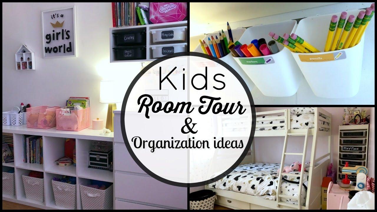Kids Room Tour Toy Organization Ideas Youtube