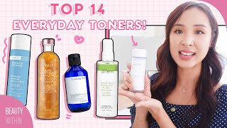 BEST Clarifying & Hydrating Toners for Oily, Combo, Acne-Prone, Dry & Sensitive Skin!