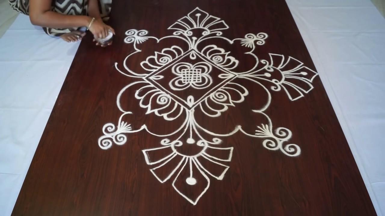 small rangoli designs without dots || small rangoli kolam ...