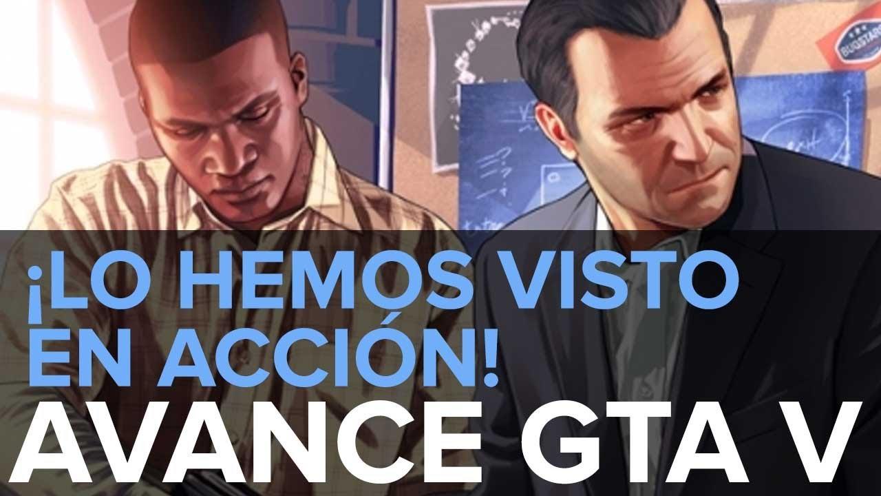 GTA 5: Avance - ¡Hemos visto más de 1 hora de juego! Os lo contamos todo