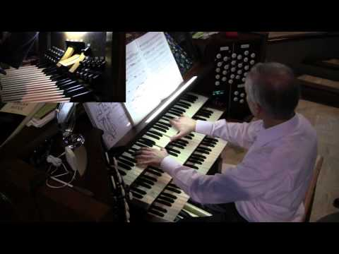 Luther Memorial Organ 3/9/16  DeGrigny, Bach, Corrette