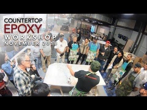 Intro Epoxy Resin Workshop November 2018