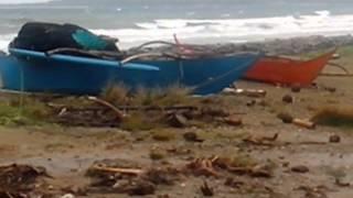 Yolands typhoon. Today 11/8/13 caticlan. Aklan