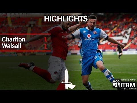 HIGHLIGHTS | Charlton 1 Walsall 1