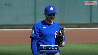 Ian Happ Talks to Boog Sciambi and Ryan Dempster While Mic'd Up for a Spring Training Game