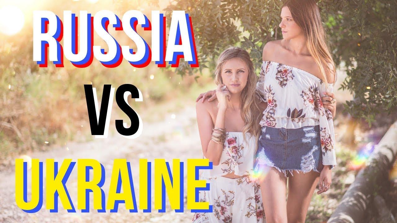 Русский девушек на украине