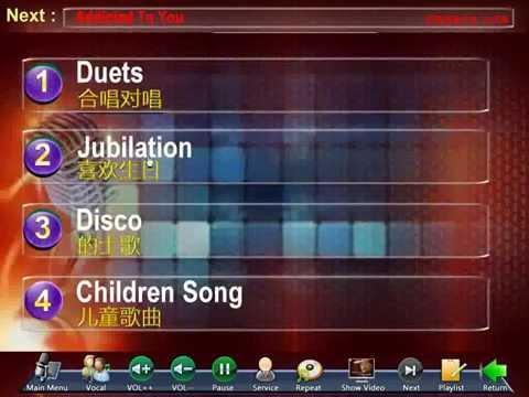Display Karaoke Remote