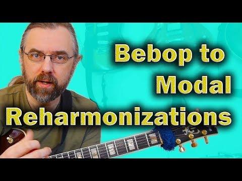 Modern Jazz Reharmonization Techniques: Tritone sub, Coltrane Changes and Modal