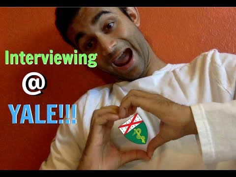 INTERVIEWING/VLOGGING AT YALE SCHOOL OF MEDICINE!!!