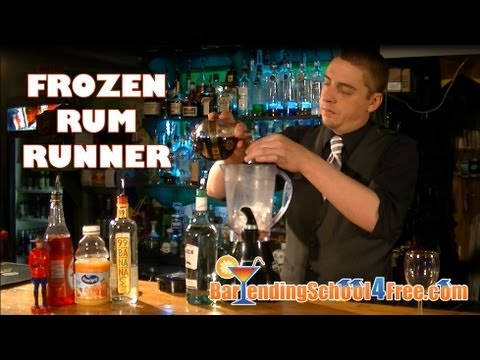 Frozen Rum Runner Drink Recipe