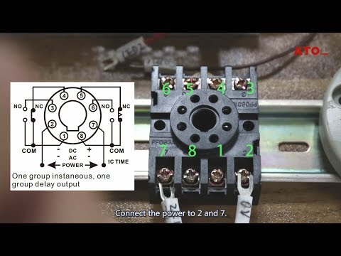 How To Connect And Set Analog Timer Relay