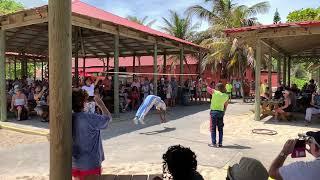 Haiti 6 Backflip High Jump!