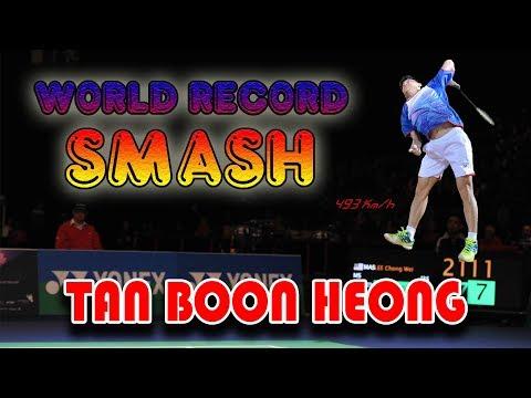 Tan Boon Heong Smash   World Record
