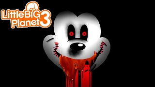 LittleBIGPlanet 3 - Abandoned by Disney: Unforgettable Horror [Playstation 4 Gameplay]