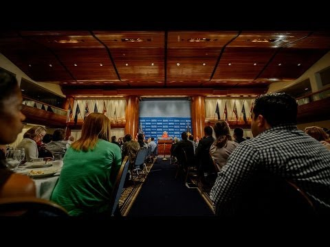 U.S. Secretary of the Interior Sally Jewell speaks at National Press Club - Oct. 31, 2013
