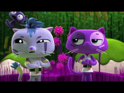 Bartleby the Cat's Ninja Moves Part 2 - True and the Rainbow Kingdom Episode Clip