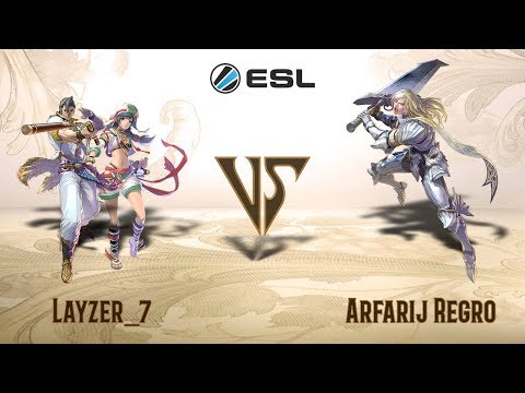 Layzer_7 (Maxi, Talim) VS Arfarij Regro (Siegfried) - ESL (PS4) Open Cup #1 (Europe)