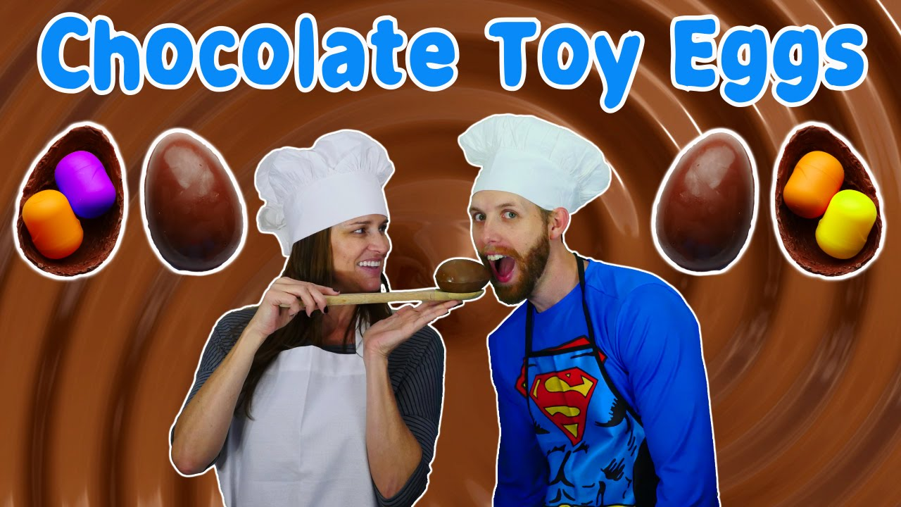 How To Make Kinder Toy Eggs DIY Chocolate Surprise Egg Toys ...