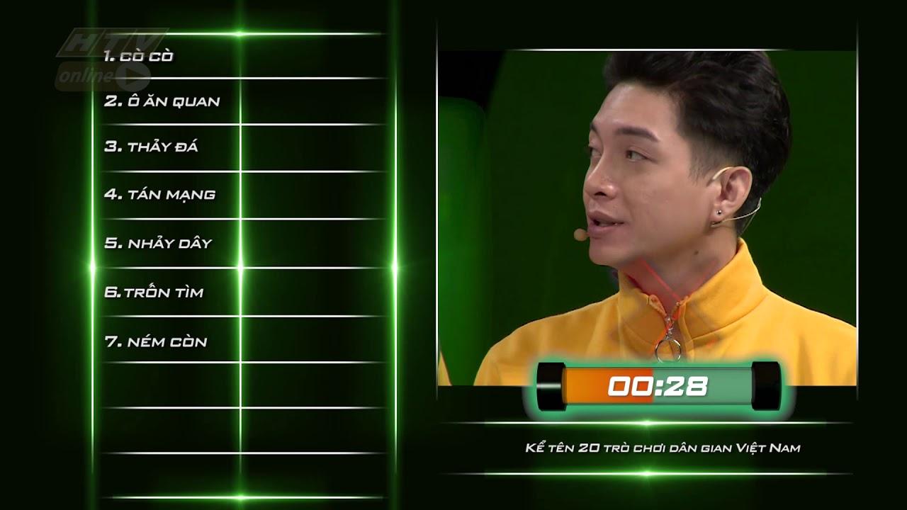 image Trương Thế Vinh-Lê Nhân-Hữu Đằng kể tên 20 trò chơi dân gian Việt Nam | NHANH NHƯ CHỚP NNC #4