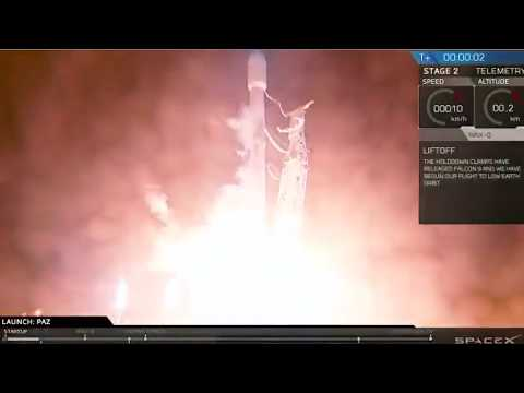 SpaceX launches Paz Earth satellite