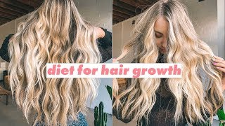 What to eat to help grow your hair ?Food and diet for long healthy hair