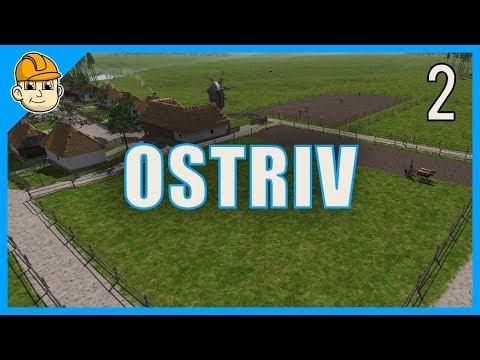 Ostriv - Farms And Harvesting Our Crops - Ep. 2 - Let's Play Ostriv Gameplay