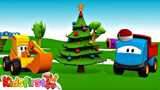 Leo's Christmas & New Year Party! Kid's 3d Cartoons For Children (Грузовичок Лёва на английском)