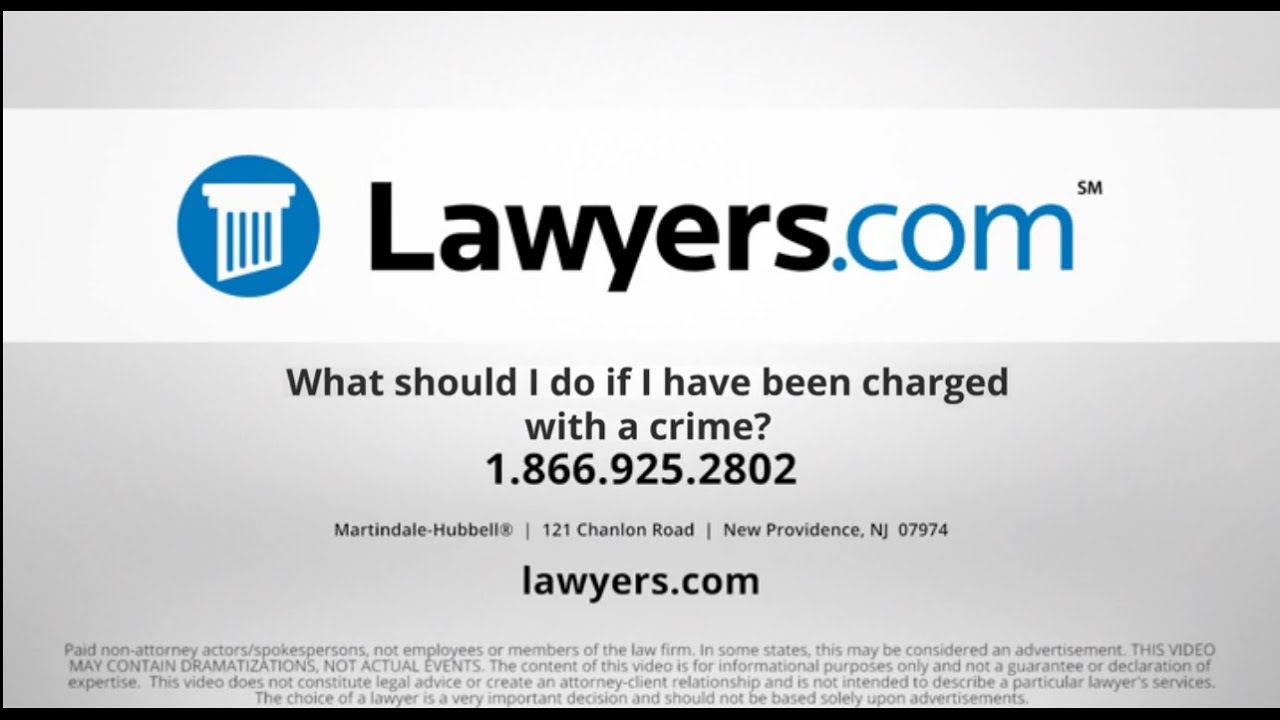 Criminal Charges: What Do They Mean? - Lawyers com