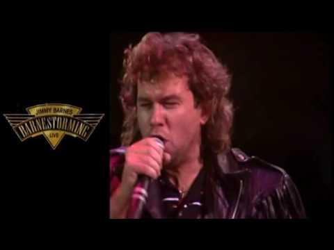 JIMMY BARNES   DRIVING WHEELS LIVE '88